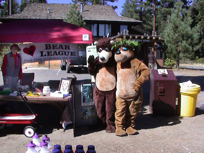 BEAR League booth