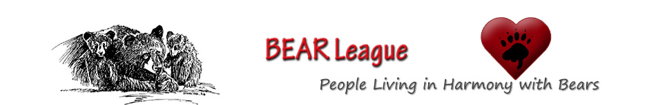 BEAR League - People Living in Harmony with Bears